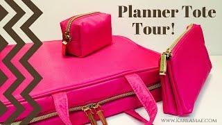getlinkyoutube.com-Planner Supply Storage Tote Tour