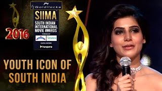 getlinkyoutube.com-SIIMA 2016 Youth Icon of South India - Samantha