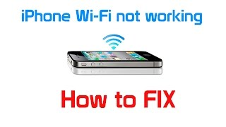 getlinkyoutube.com-iPhone not connecting to wi-fi - problems with wifi password and disconnecting