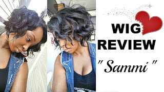 "getlinkyoutube.com-""SAMMI"" by Freetress Equal - Deep Invisible L-Part Wig"