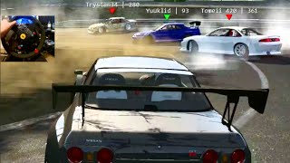 Assetto Corsa GoPro Online Drifting R32 Widebody - Project Touge