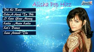Alisha Chinai Pop Hitz || Alisha Chinai indian Pop Queen || Dil Ki Raani width=