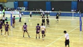getlinkyoutube.com-★和歌山 国体2015 バレーボール★ 京都×熊本①
