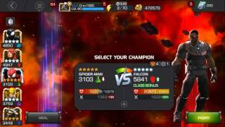 getlinkyoutube.com-Marvel Contest of Champions - Falcon 'Showcase'