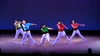 桜塚高校ダンス部 Blom'1引退ライブ 部長・副部長・会計
