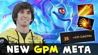 Dendi new GPM meta — Radiance, Midas and 420 gold talent Puck