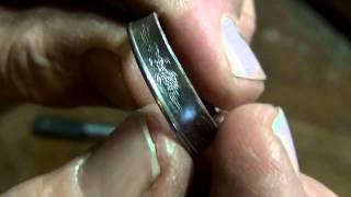 getlinkyoutube.com-Кольца из монет своими руками