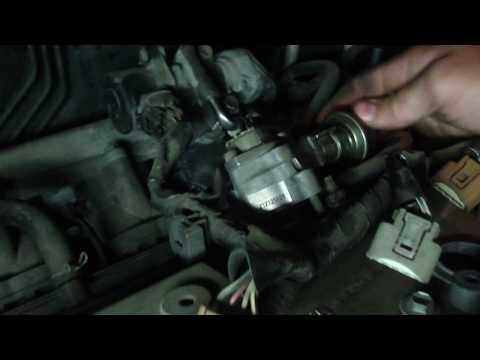 Замена цепи ГРМ 1AZ-FSE Toyota VOXY часть 1