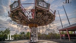 getlinkyoutube.com-BUSTED at Abandoned Six Flags New Orleans Jazzland with Urban Explorer Jason Lanier Photography