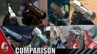 getlinkyoutube.com-Halo 1-5 Magnum Comparison (Check updated video linked below!)