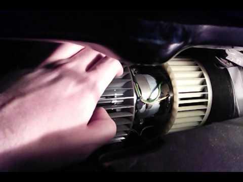 BMW e36: Вентилятор печки (новый Hella 8EW ) (часть 1