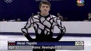 getlinkyoutube.com-Alexey Yagudin 2002 Olympics, SP Winter