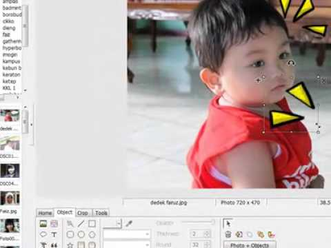 tutorial aplikasi photoscape