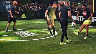 getlinkyoutube.com-Zidane & his Son vs F2 Freestylers ✖ Football Skill Match