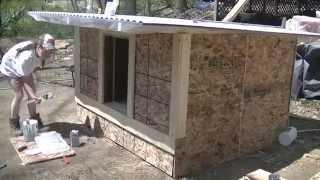 getlinkyoutube.com-Building a Duck Coop & Pond Part 2