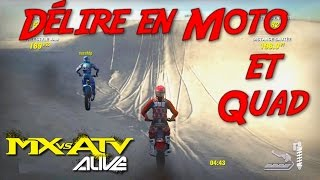 getlinkyoutube.com-Délire en Motocross et Quad ! MX vs ATV Alive