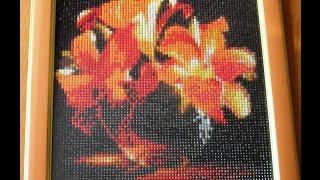 getlinkyoutube.com-Оформление в рамку алмазной мозаики (вышивки) своими руками