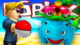 getlinkyoutube.com-Pokemon GO 2 Roblox   I CAUGHT A WILD VENUSAUR IN POKEMON GO!