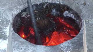 getlinkyoutube.com-Mobile induction furnace From IDT Chile