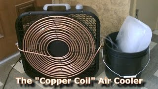 "getlinkyoutube.com-Homemade AC - The ""Copper Coil"" Air Cooler! - (Simple ""Box Fan"" Conversion) - Easy DIY"