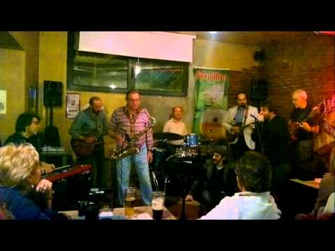 Peter king & the Big Band blues  Heggy Vezzano & Gerry Gey Carlo Leonardi