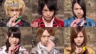 getlinkyoutube.com-all gokai change voice super megaforce