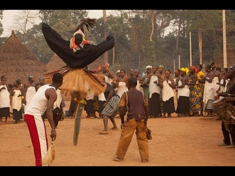 Stilt Dance Ceremony, Ivory Coast: Overlanding West Africa