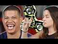 High People Try Fidget Spinners
