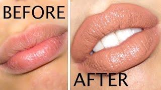 getlinkyoutube.com-How to Make Your Lips Look BIGGER in 5 Minutes!!!