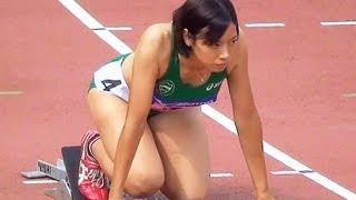 getlinkyoutube.com-Athletics W'400mH予選2組 日本インカレ陸上2013-907