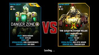 getlinkyoutube.com-Real Steel WRB Championship Danger Zone VS Midas NEW ROBOT UPDATE Halloween