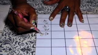 getlinkyoutube.com-How to make Your own Nail Decals