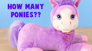 getlinkyoutube.com-Pony Surprise Jazzy Toys R Us Exclusive- How Many Ponies Did She Have?