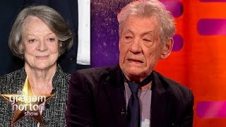 getlinkyoutube.com-Sir Ian McKellen Does An Amazing Maggie Smith Impression - The Graham Norton Show