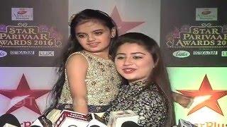 getlinkyoutube.com-Pihu and ruhi aka Ruhanika and Aditi at Star Parivar Awards