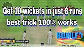 WCC2 Best bowling trick (English subtitle)