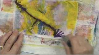 getlinkyoutube.com-Styrofoam Plate Printing with Sherrill Kahn