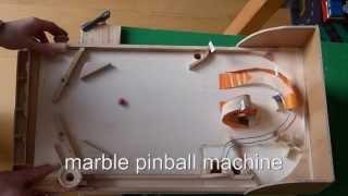 getlinkyoutube.com-homemade wood pinball machine (using regular marbles)