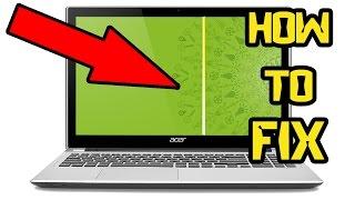 getlinkyoutube.com-How to 100% Fix Vertical Lines Laptop Screen