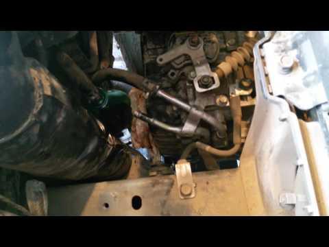 Полная замена масла АКПП A6GF1 KIA CEED JD change transmission fluid Hyundai 6AT
