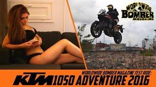getlinkyoutube.com-Bomber Babe booty call to KTM 1050 Adventure rider
