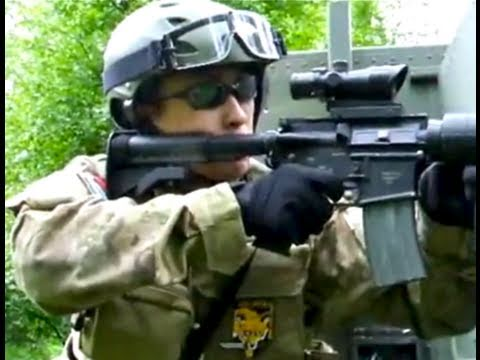 Airsoft War Action The Fort Scotland L85 G3/SG1 VSR