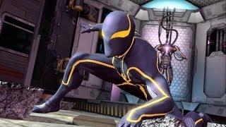 getlinkyoutube.com-The Amazing Spider-Man 2 100% Walkthrough Part 17 - All 5 Russian Hideouts (Unlocking New Suits)