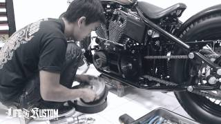 getlinkyoutube.com-Installation BDL Open Belt Drives (By Life & Kustom)