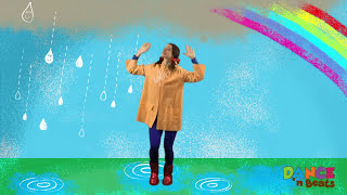 getlinkyoutube.com-Preschool Learn to Dance: Drip Drop Rain