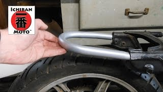 getlinkyoutube.com-How to install a cafe racer seat loop / brat seat hoop on your motorcycle