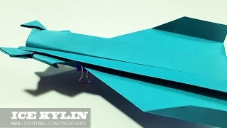 getlinkyoutube.com-Best Paper Planes: How to make a Paper Airplane that Flies | Ice Kylin