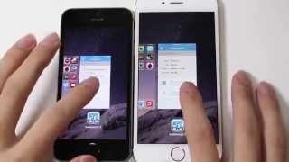 getlinkyoutube.com-아이폰 6 vs 아이폰 5s 비교 iPhone 6 iPhone 5s comparison