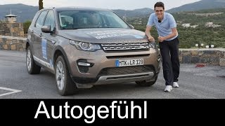 getlinkyoutube.com-All-new Land Rover Discovery Sport HSE FULL REVIEW with offroad test driven - Autogefühl