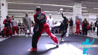 getlinkyoutube.com-Jahlani Frasier v Quincy Dewitt - Men's Sparring - New England Open 2015